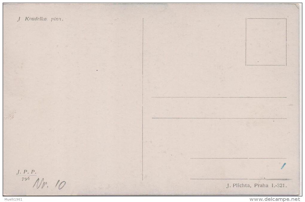 Nr. 3282, Tschechien, Koudelka, Trachten Und Typen - Europe