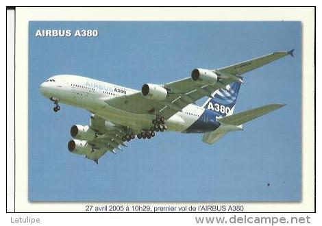 Toulouse  31   Airbus A 380 ....-Avril 2005  Premier Vol De L'Airbus A 380 - Toulouse