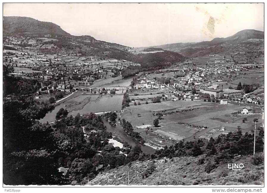 RETOURNAC 43 -Vue Panoramique Et Vallée De La Loire - CPSM Dentelée Noir Et Blanc GF 1953 - Haute Loire - Retournac