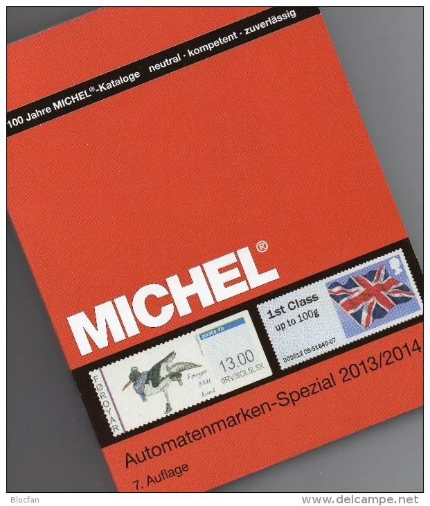 Michel Automatenmarken Katalog 2013/2014 Neu 64€ All World A AU B D DK F UK N P CH RO NO Brazil SF Eire C IS LUX E TK GR - Alte Papiere