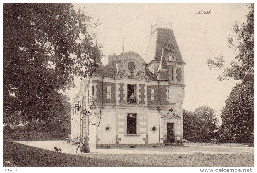 CPA LESSAC - France