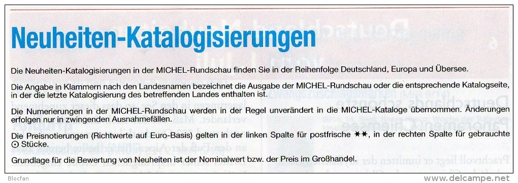 MICHEL Briefmarken Rundschau 7/2015-plus Neu 6€ New Stamps World Catalogue And Magacine Of Germany ISBN 9 783954 025503 - German