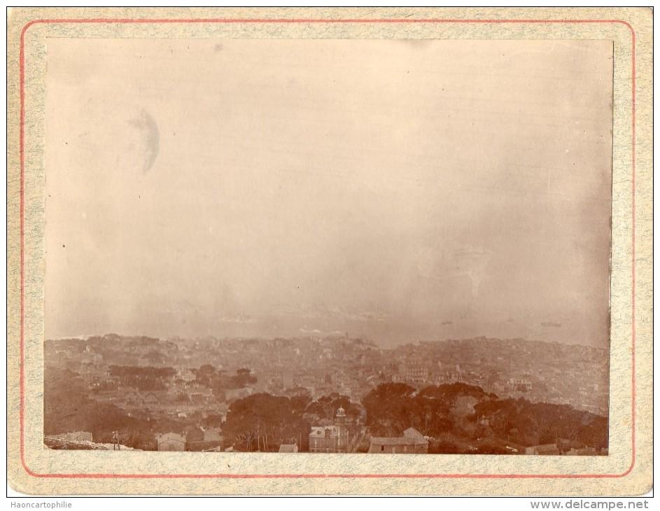 Marseille : Photo Datée De 1917 - Lieux
