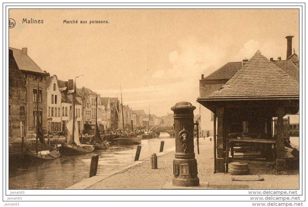 MALINES MARCHE AUX POISSONS ( LOT V5) - Mechelen