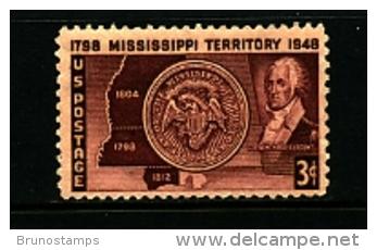 UNITED STATES/USA - 1948  MISSISSIPPI  MINT NH - Verenigde Staten