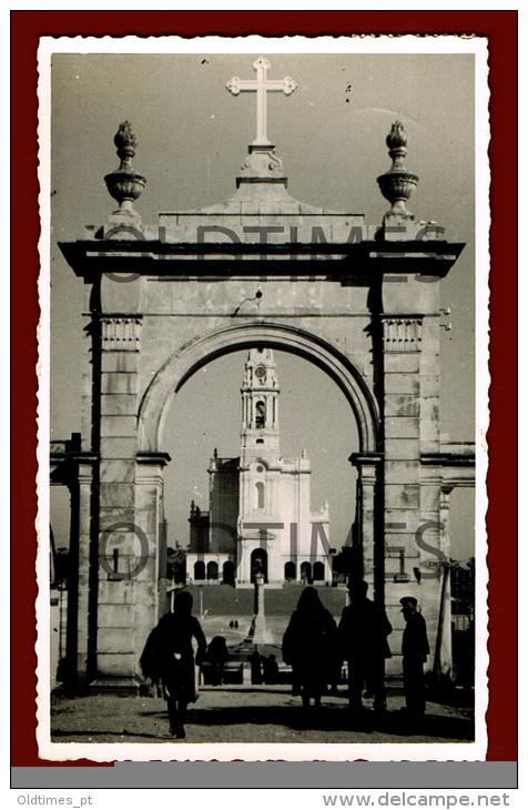 FATIMA - O SANTUARIO - 1940 REAL PHOTO PC - Santarem