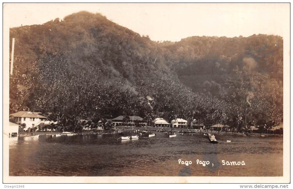 "03680 ""PAGO PAGO - AMERICAN SAMOA ""  ORIGINAL POST CARD.  NOT SHIPPED. - Samoa Americana"