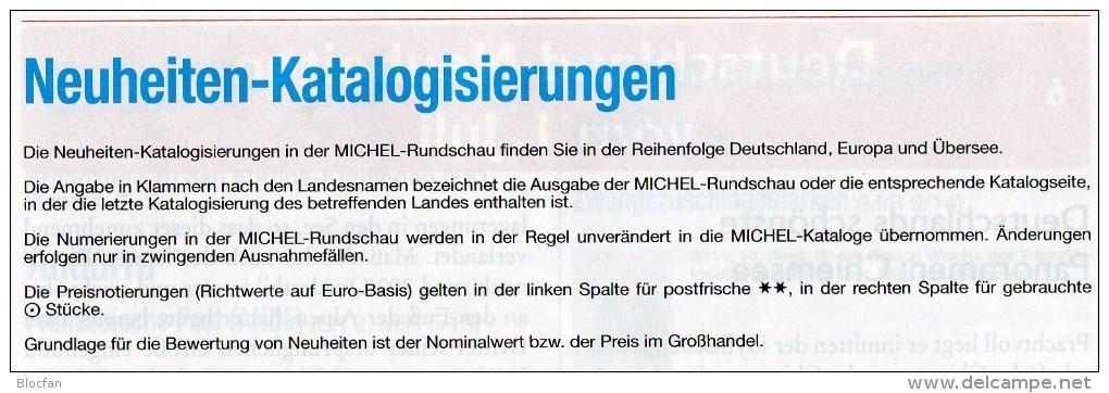 Briefmarken Rundschau MICHEL 7/2015-plus New 6€ New Stamps World Catalogue And Magacine Of Germany ISBN 9 783954 025503 - Deutsch