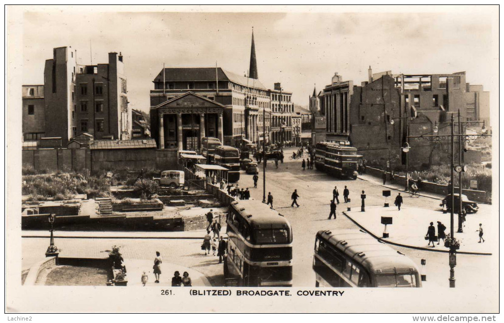 Blitzed - Broadgate Coventry ( 2scans) - Coventry