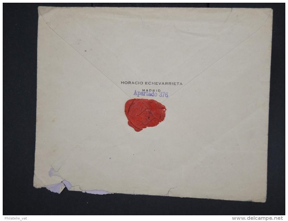 ESPAGNE - Enveloppe En Recommandée De Madrid Pour Marseille En 1925 - Aff Plaisant - à Voir - Lot P7760 - Cartas