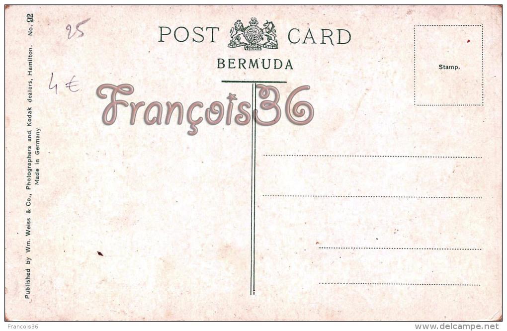 Bermuda Bermudes - Post Office And Parliament Building - 2 SCANS - Bermudes