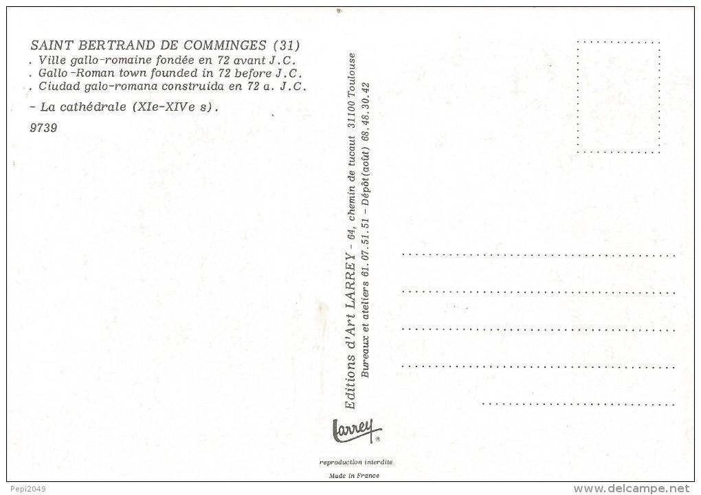 PP1493 - POSTAL - SAINT BERTRAND DE COMMINGES - CIUDAD GALO-ROMANA - LA CATHEDRALE - Sin Clasificación