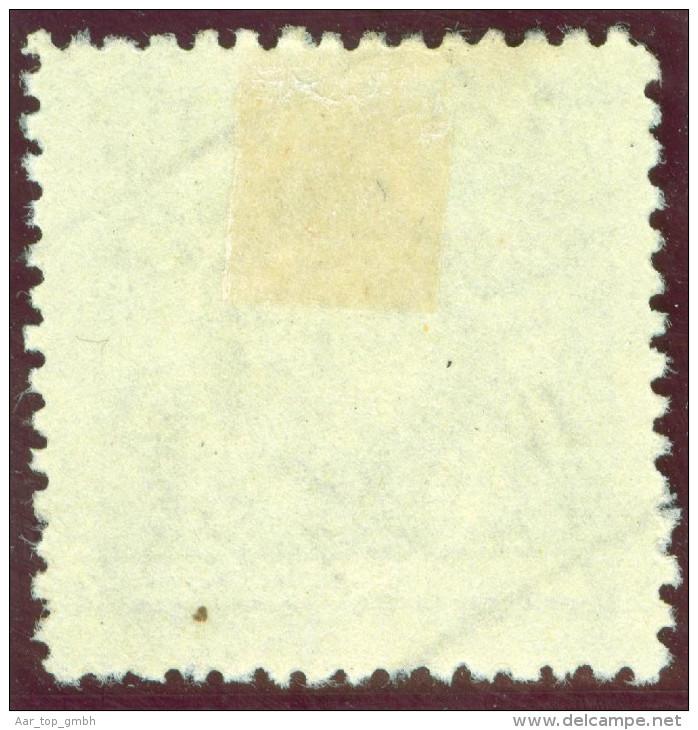 Heimat Liechtenstein Triesen 1921-04-20 Aushilfsstempel Auf Zu#49A Mi#49B Gezähnt 12,5 - Liechtenstein