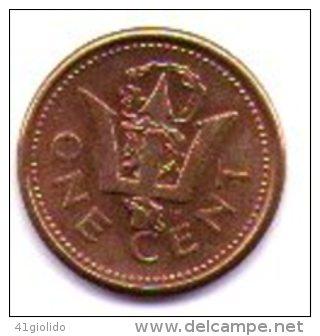 Barbados 1 Cent 1991 - Barbades
