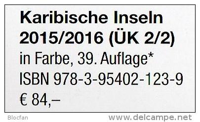 Karibik K-Z Amerika 2/2 Michel Katalog 2015/2016 Neu 84€ Kuba Lucia Montserrat Nevis Rico Tobago Turks/Caicos St.Vincent - Sin Clasificación