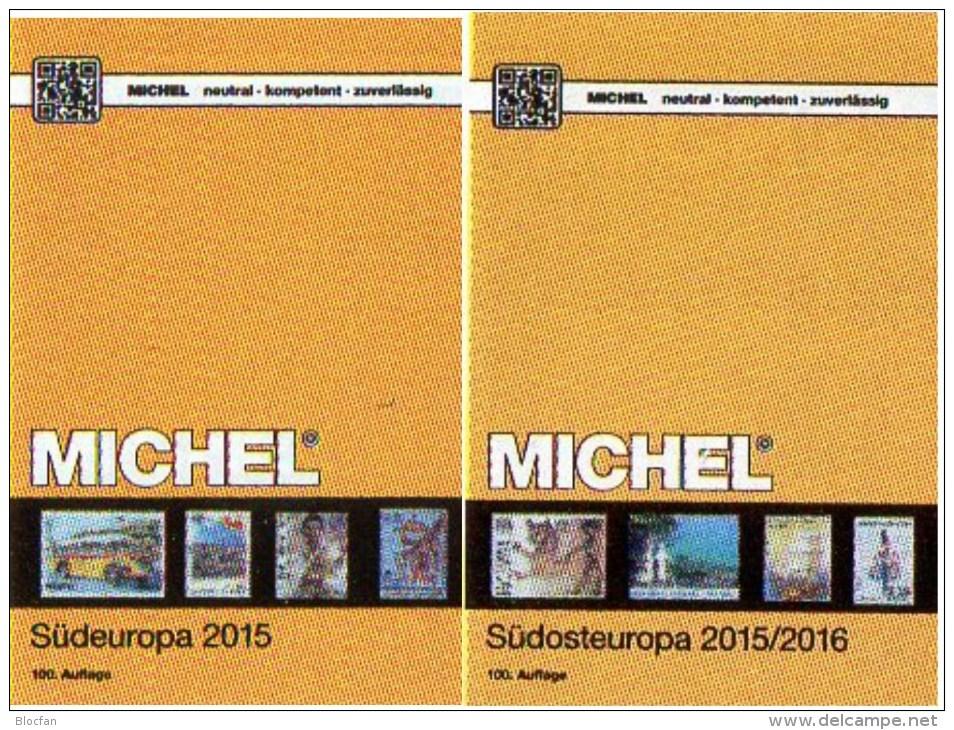 Süd/Südost-Europa Katalog 2015/2016 Neu 132€ MICHEL Band 3+4 Italy Fiume Jugoslavia Vatikan Kreta SRB BG GR RO TR Cyprus - Material Und Zubehör