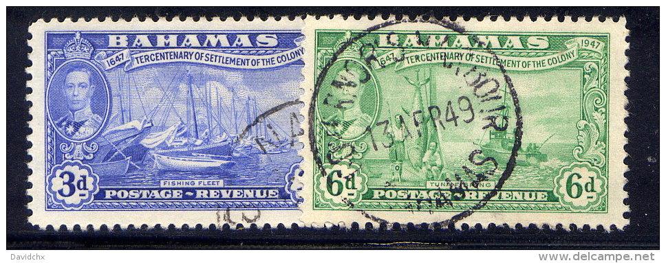 BAHAMAS, NO.´S 137 & 139 - Bahamas (1973-...)