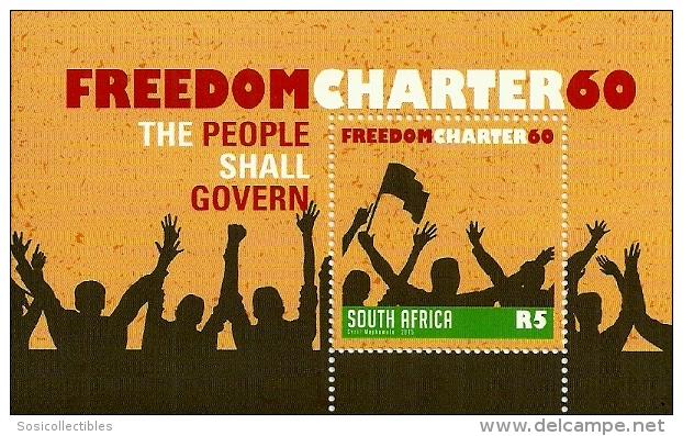 (原创)看邮票识南非6:自由宪章 - 六一儿童 - 译海拾蚌