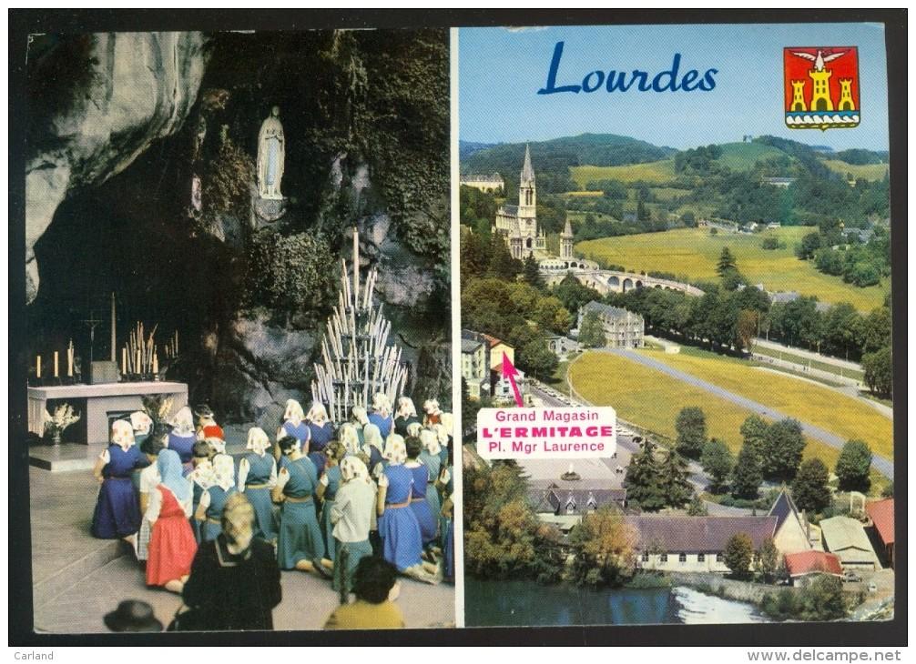 Calendrier  Kalender  1966  - Lourdes - Calendriers