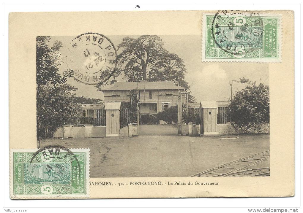 ///   CPA - Afrique - DAHOMEY - PORTO NOVO - Le Palais Du Gouverneur   // - Dahomey