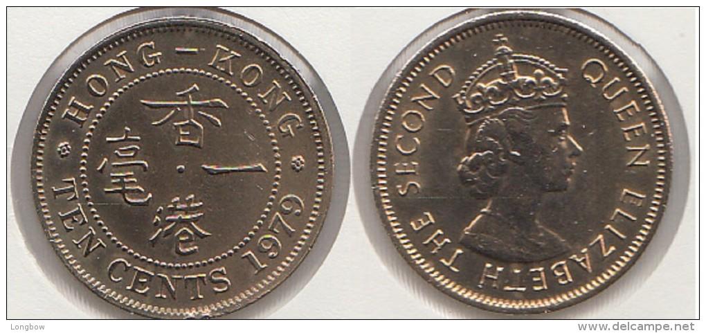 Hong Kong 10 Cents 1979 Km#28.3 - Used - Hong Kong