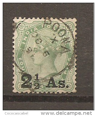 India Inglesa -  Nº Yvert 45 (usado) (o) - India (...-1947)