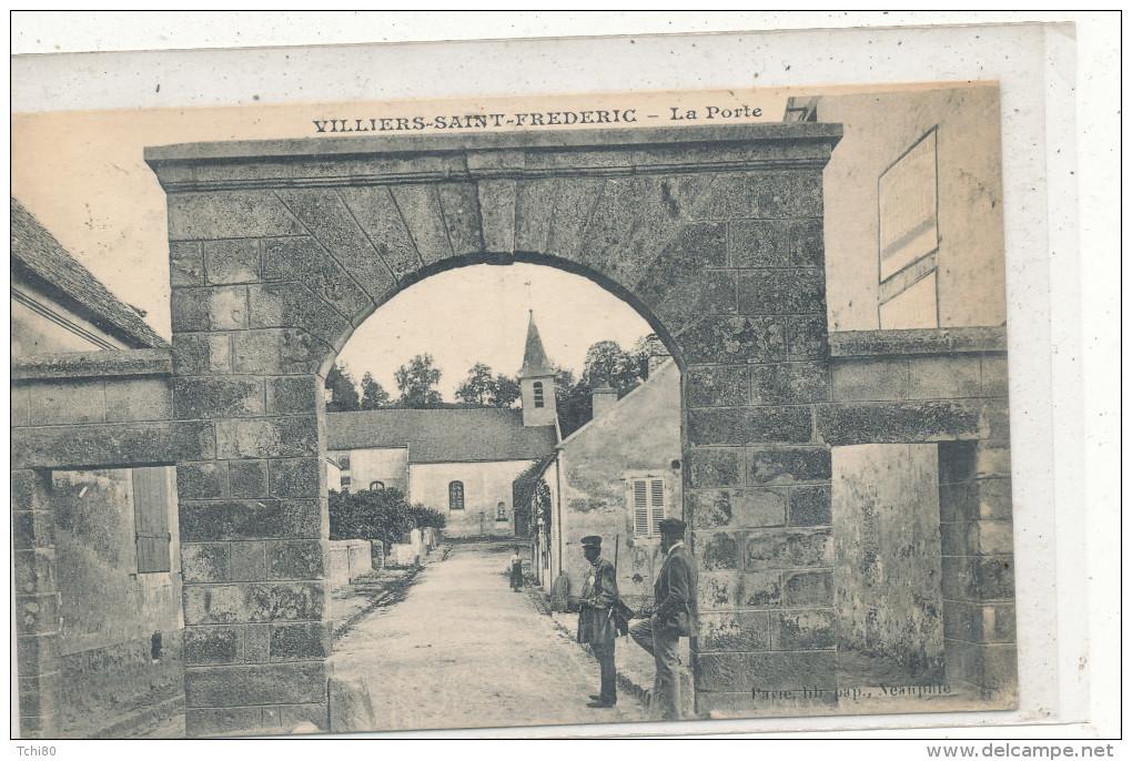 VILLIERS SAINT FREDERIC La Porte  Animée - France