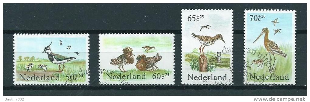 1984 Netherlands Complete Set Birds,oiseaux,vögel Used/gebruikt/oblitere - Periode 1980-... (Beatrix)