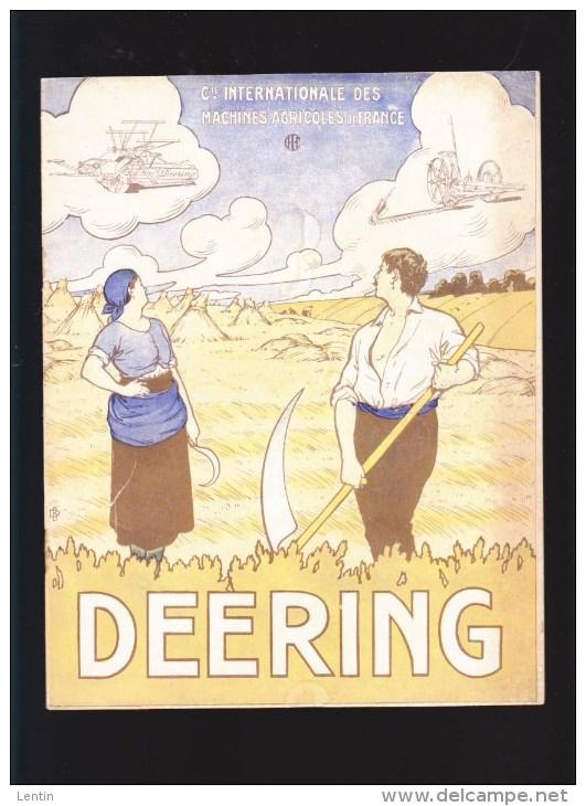 Catalogue Deering - Machines Agricoles De France - Paris Lyon Bordeaux Nantes(4 Rue De Linné) - Catalogues