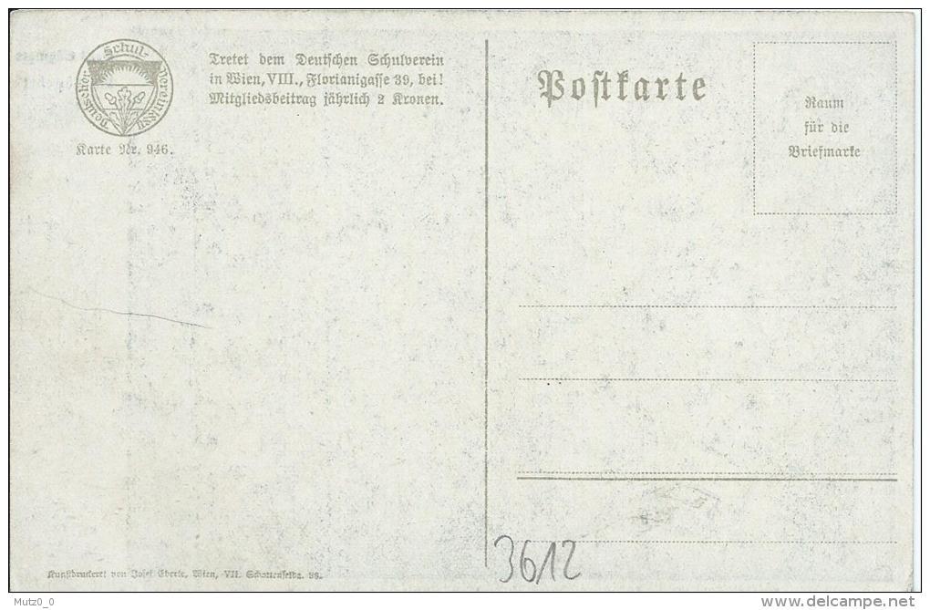 AK 0176  Abendgebet - Hans Götzinger / Deutscher Schulverein Um 1910-20 - Malerei & Gemälde