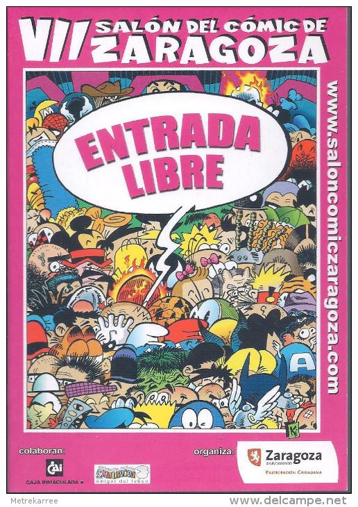 Salon Del Comic Zaragoza 2008 - Non Classés