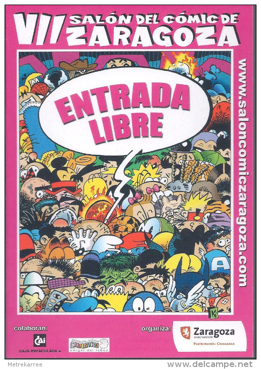 Salon Del Comic Zaragoza 2008 - Livres, BD, Revues