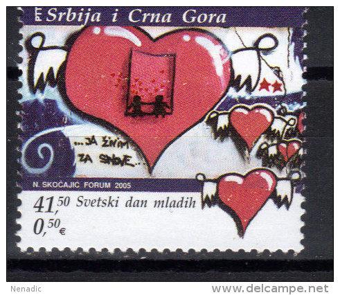 Yugoslavia,World Youth Day 2005.,MNH - 1992-2003 République Fédérale De Yougoslavie