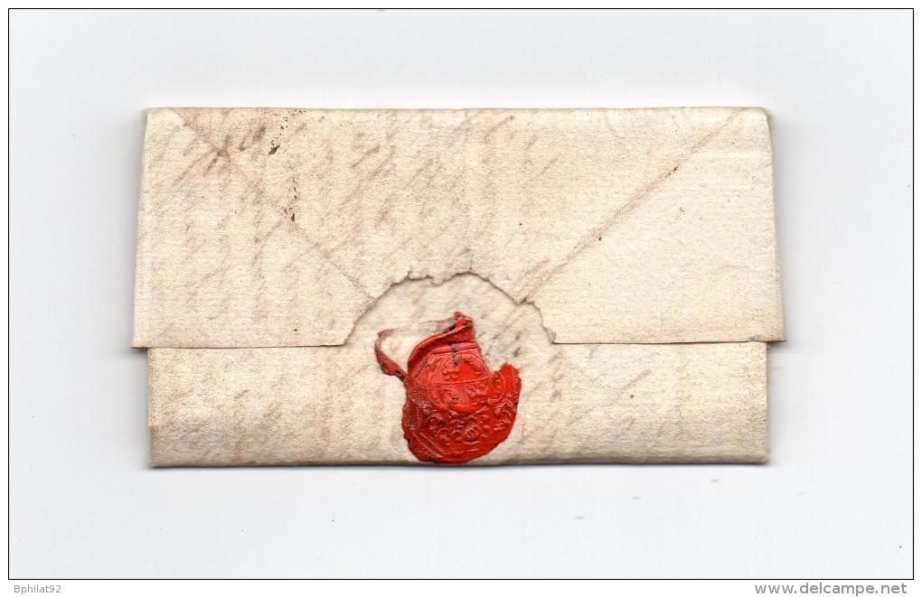 !!! LETTRE DE ST VINCENT (LANDES) DE 1692 - Marcophilie (Lettres)