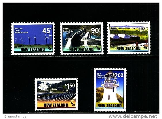 NEW ZEALAND - 2006  RENEWABLE ENERGY  SET  MINT NH - Nuovi