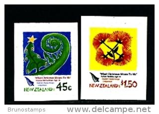 NEW ZEALAND - 2006  CHRISTMAS  SELF  ADHESIVE  SET  EX BOOKLET  MINT NH - Nuova Zelanda