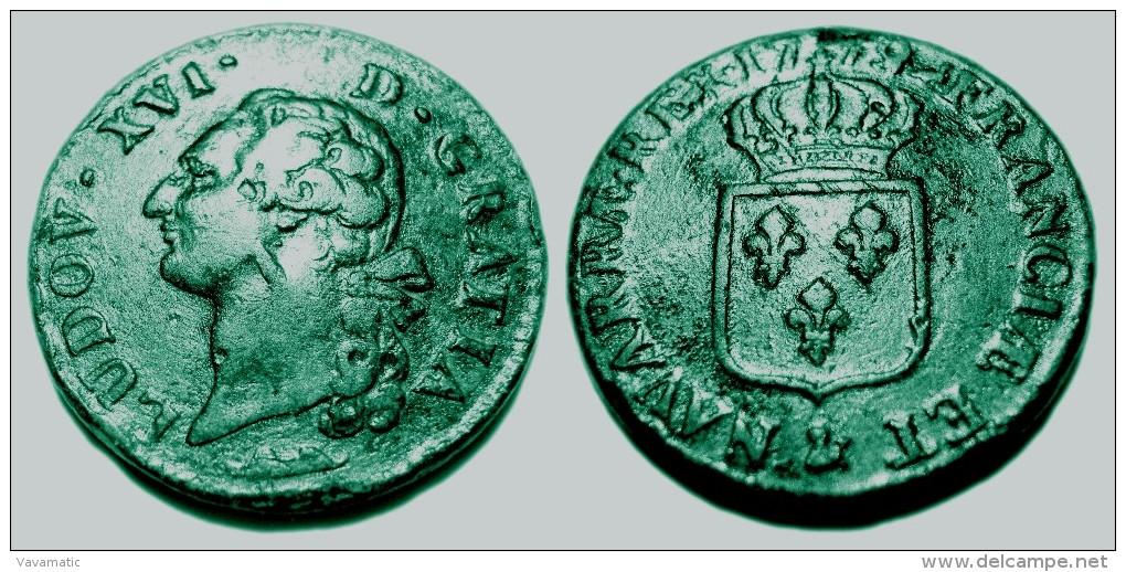 Pi ce de monnaie royale louis xvi sol dit l 39 cu 1779 ai - Sol en piece de monnaie ...