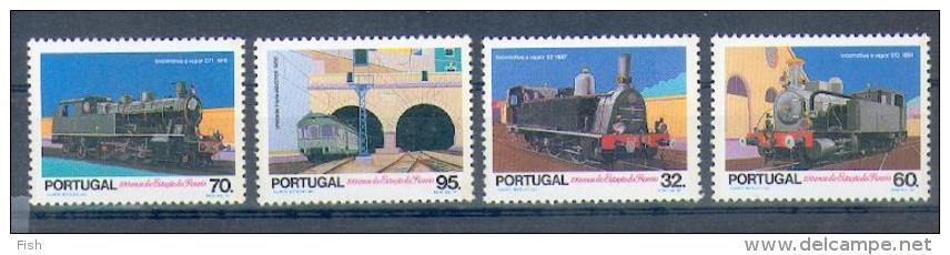 Portugal ** & Comboios 1990 (1972) - Treni