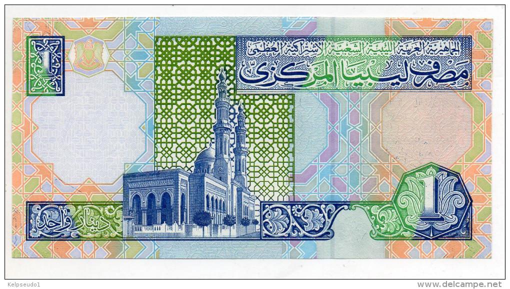 LIBYE : 1 Dinar 1988 (unc) - Libye