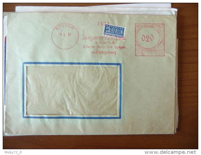 Lotto Affrancature Meccaniche Rosse (m107) - Stamps