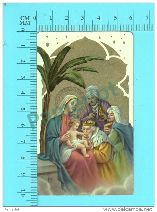 KGCO 27/1 ( Adoration Des Mages  )  Image Pieuse Santini Holycard 2 Scans - Devotion Images