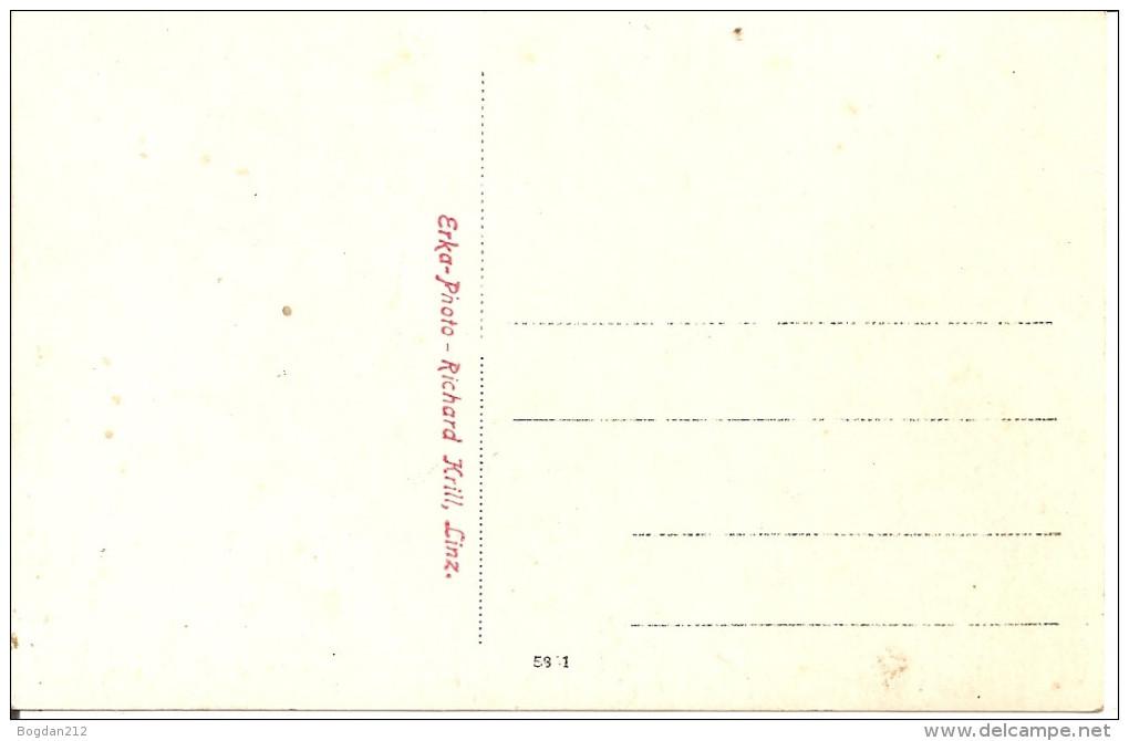 1910/30 - LINZ, BRUCKENBAU, Orginal Foto Karte, 2 Scan - Linz