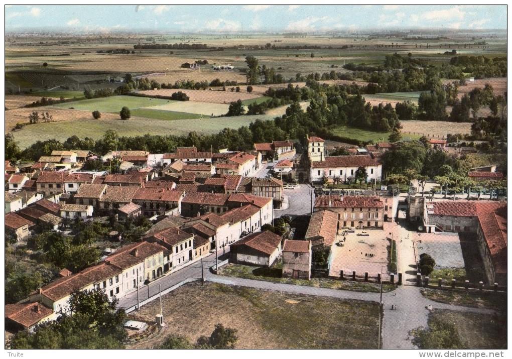LAVERNOSE-LACASSSE  VUE AERIENNE - France