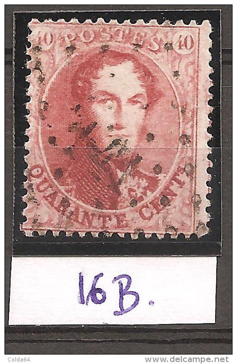 N° 16B Oblitéré - 1863-1864 Medallions (13/16)