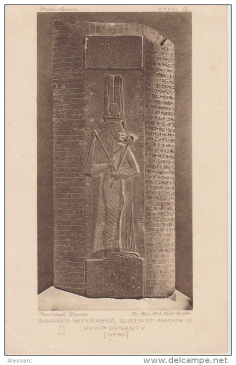 United Kingdom London British Museum - Ankhnes-Neferabra, Queen Of Amasis II 1925 - Museum
