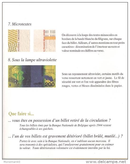 DEPLIANT (Billet De 200 Francs Belges) Dédié à ADOLPHE SAX. - Belgique