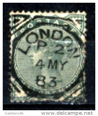 Gran-Bretagna-139 - 1880-81 - Y&T/U N.67 (o) - Filigrana (11) - Privo Di Difetti Occulti. - Oblitérés