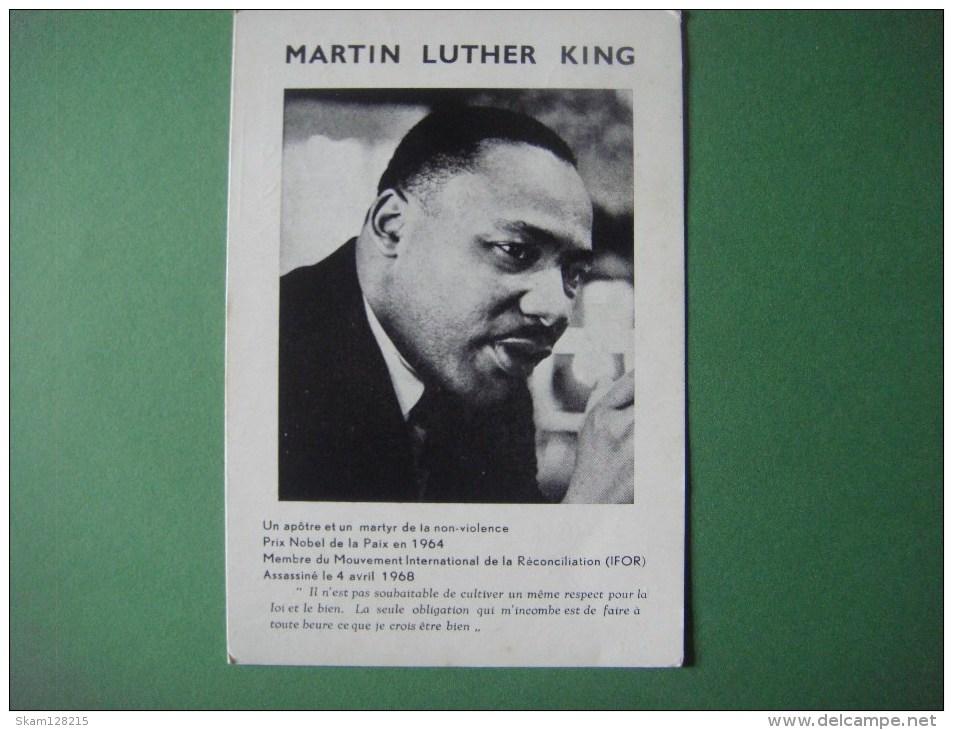 MARTIN LUTHER KING Mouvement International De La Réconciliation -- Rue Du Château D'Eau -- Lessines - Nobelprijs
