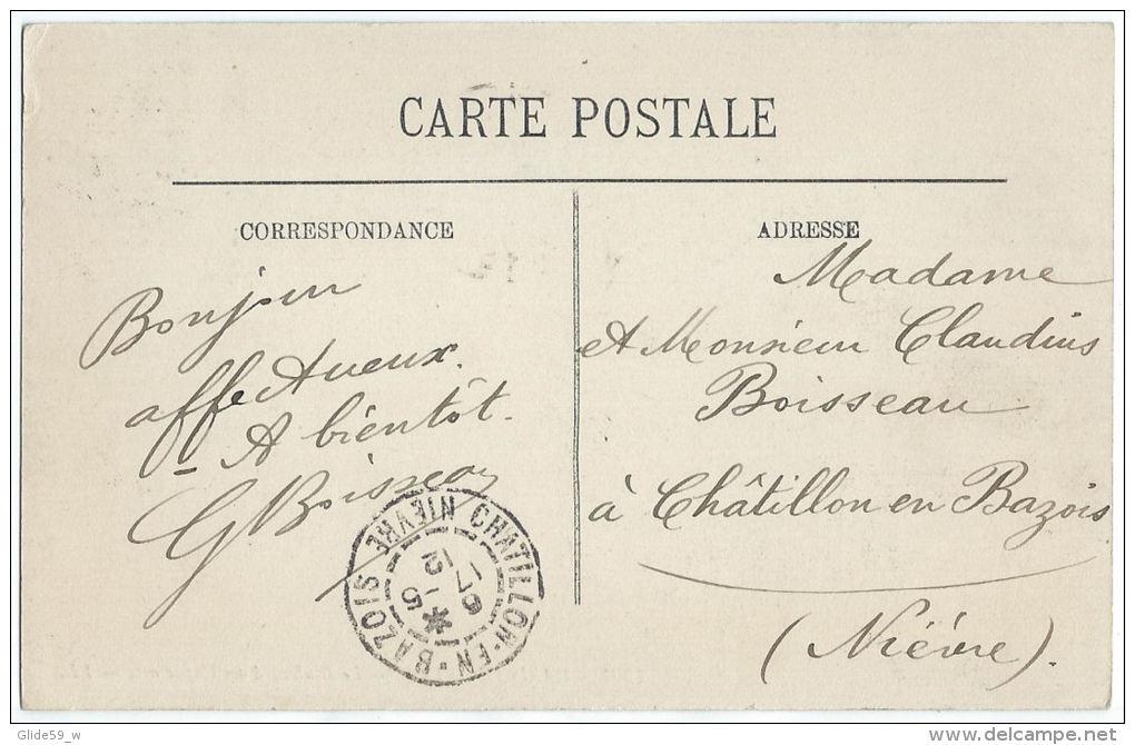 Paris (IIe Et IXe) - Le Boulevard Des Capucines (animée Avec Tacots) - N° 1901 - Arrondissement: 02