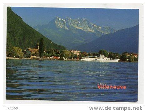 SWITZERLAND - AK 237369 Villeneuve - VD Vaud